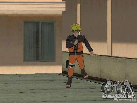 Skin Pack From Naruto pour GTA San Andreas quatrième écran