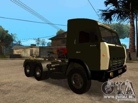 KAMAZ 5410 pour GTA San Andreas vue de côté