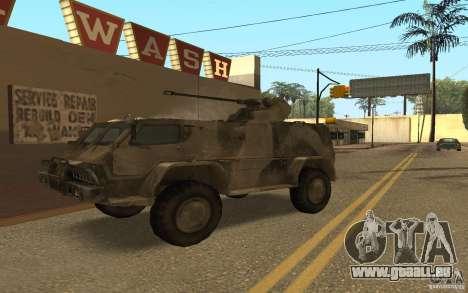 GAS-3937 Vodnik für GTA San Andreas