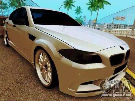 BMW M5 F10 HAMANN pour GTA San Andreas