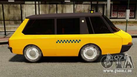 Taxi soviétique 1966 pour GTA 4 est une gauche