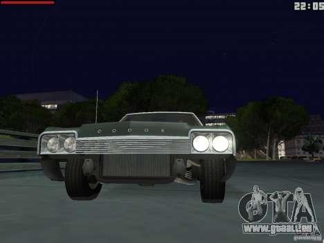 Dodge Monaco 1974 für GTA San Andreas rechten Ansicht