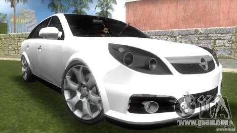 Opel Vectra pour GTA Vice City