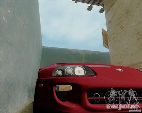 Toyota Supra RZ 98 Twin Turbo für GTA San Andreas Seitenansicht