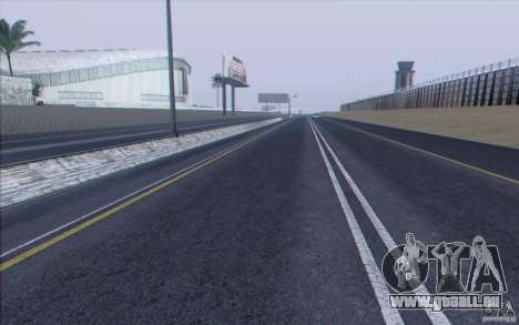 HD Road v3. 0 für GTA San Andreas siebten Screenshot