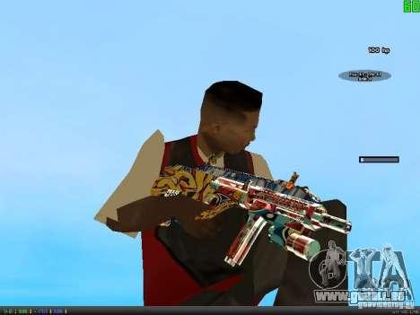 Graffiti Gun Pack pour GTA San Andreas troisième écran