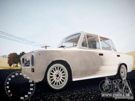 Vaz-2101 Drift Edition pour GTA 4 Vue arrière de la gauche