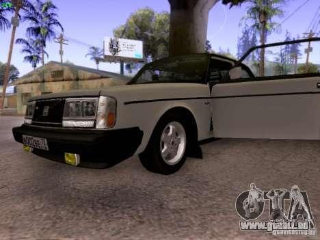 Volvo 242 Turbo pour GTA San Andreas vue arrière