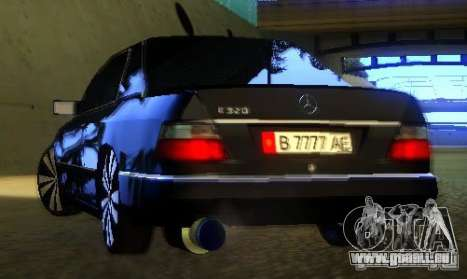 Mercedes-Benz CE 320 für GTA San Andreas obere Ansicht
