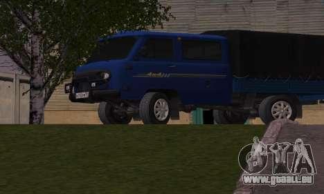 UAZ 39094 Fermer pour GTA San Andreas laissé vue