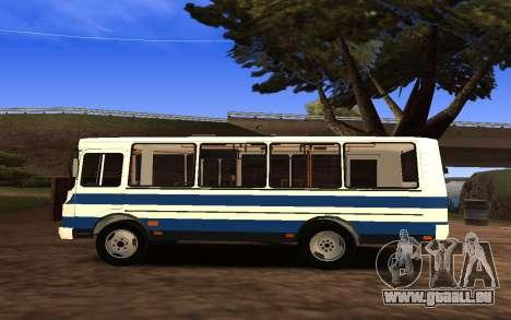 PAZ 3205 pour GTA San Andreas laissé vue