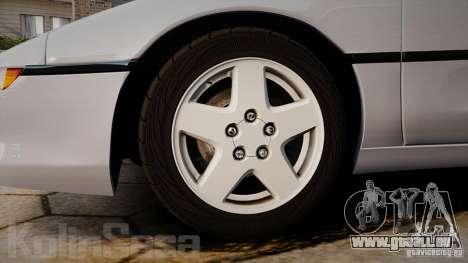 Toyota MR2 GT [EPM] pour GTA 4 est une vue de l'intérieur