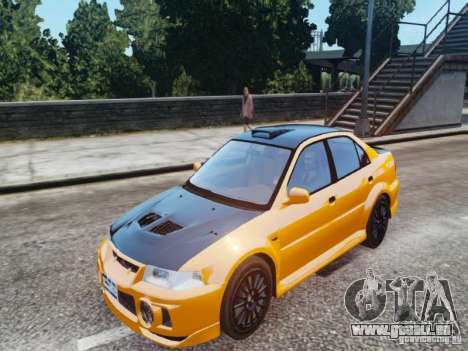 Mitsubishi Lancer Evo VI GSR pour GTA 4