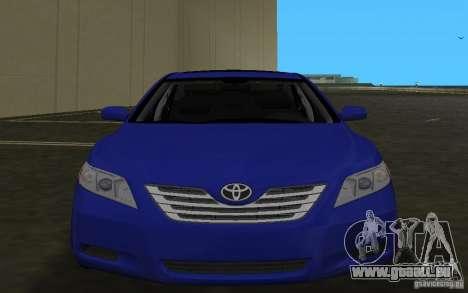 Toyota Camry 2007 pour GTA Vice City vue latérale