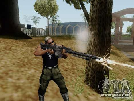 La mitrailleuse MG-42 pour GTA San Andreas