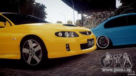 Holden Monaro pour GTA 4 Vue arrière de la gauche