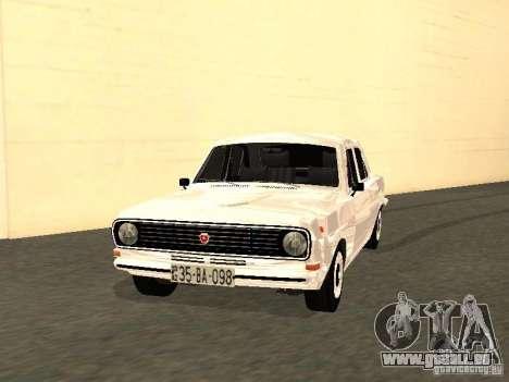 GAZ 24-10 pour GTA San Andreas laissé vue