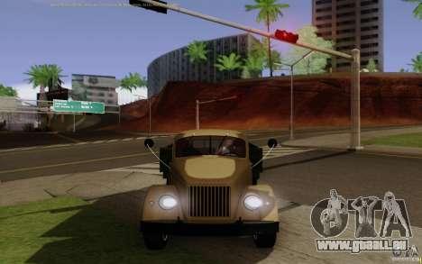 GAZ 51 pour GTA San Andreas vue de droite