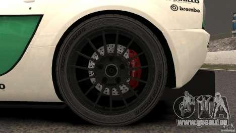 Alfa Romeo 8C Competizione Body Kit 1 für GTA 4 Rückansicht