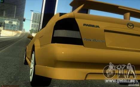 Mazda Speed Familia 2001 V1.0 für GTA San Andreas zurück linke Ansicht