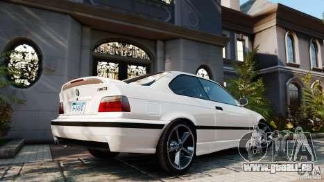 BMW M3 v2.0 pour GTA 4 est une gauche