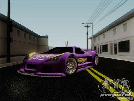 Gumpert Apollo 2005 für GTA San Andreas obere Ansicht