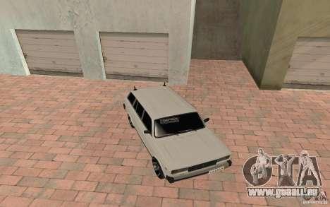 VAZ 2104 pour GTA San Andreas vue intérieure