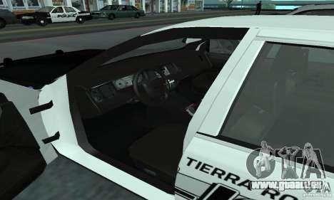 Ford Crown Victoria 2009 Slicktop für GTA San Andreas zurück linke Ansicht