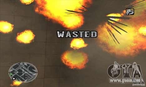 Ultra HUD v2.0 pour GTA San Andreas cinquième écran