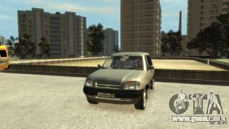Chevrolet Niva pour GTA 4