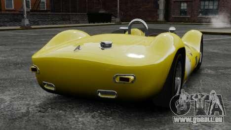 Maserati Tipo 60 Birdcage pour GTA 4 Vue arrière de la gauche