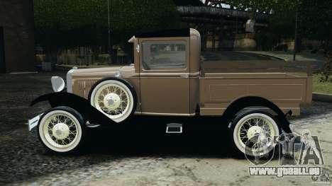 Ford Model A Pickup 1930 pour GTA 4 est une gauche