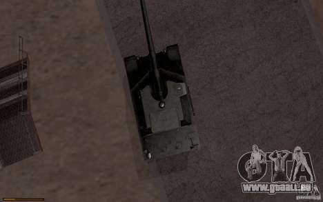 Bat. Chat. 155 SPG pour GTA San Andreas sur la vue arrière gauche