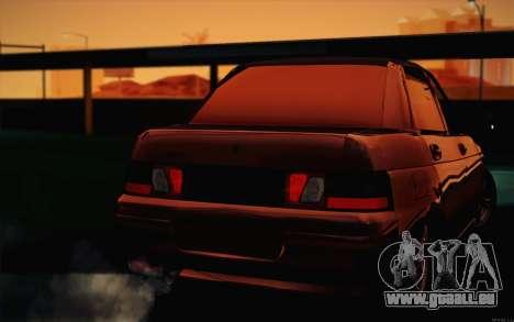 VAZ 2110 Drain pour GTA San Andreas vue de côté