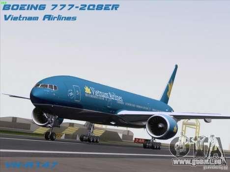 Boeing 777-2Q8ER Vietnam Airlines pour GTA San Andreas