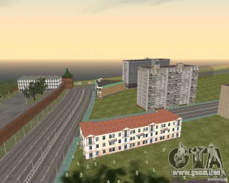 Nižegorodsk v0.1 BETA pour GTA San Andreas quatrième écran