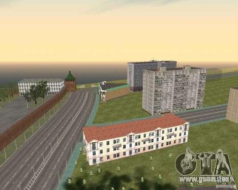 Nižegorodsk v0. 1 BETA für GTA San Andreas her Screenshot
