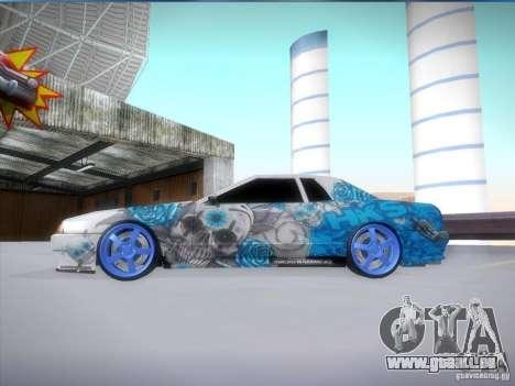Équipe HKS vinyle pour GTA San Andreas laissé vue