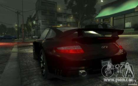 Porsche 911 GT2 2008 für GTA 4 rechte Ansicht