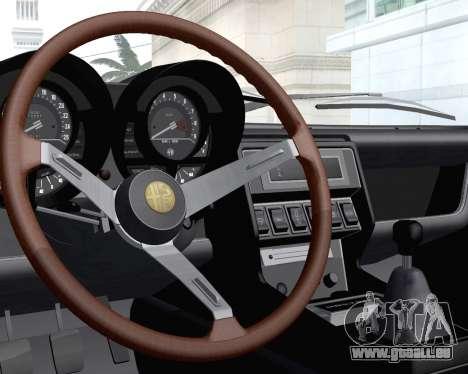 Alfa Romeo Montreal 1970 für GTA San Andreas Seitenansicht