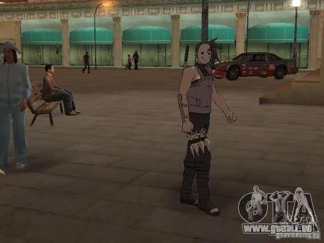 Skin Pack From Naruto pour GTA San Andreas deuxième écran