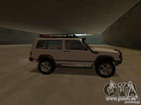 Jeep Cherokee Sport pour GTA San Andreas laissé vue
