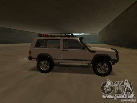 Jeep Cherokee Sport für GTA San Andreas linke Ansicht
