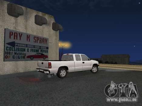 Chevorlet Silverado 2000 für GTA San Andreas rechten Ansicht