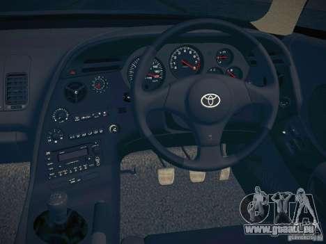 Toyota Supra VeilSide Fortune 2003 pour GTA San Andreas vue intérieure