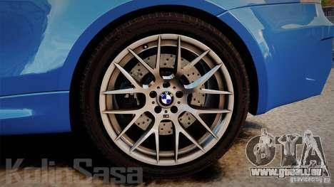 BMW 1M 2011 Carbon pour GTA 4 est un côté