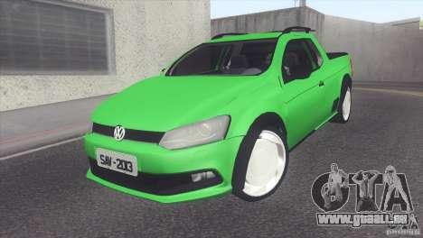Volkswagen Saveiro 2013 für GTA San Andreas