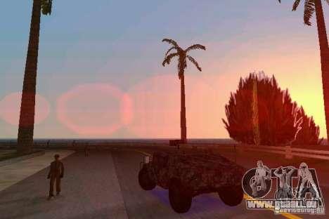 Hummer HMMWV M-998 1984 für GTA Vice City zurück linke Ansicht