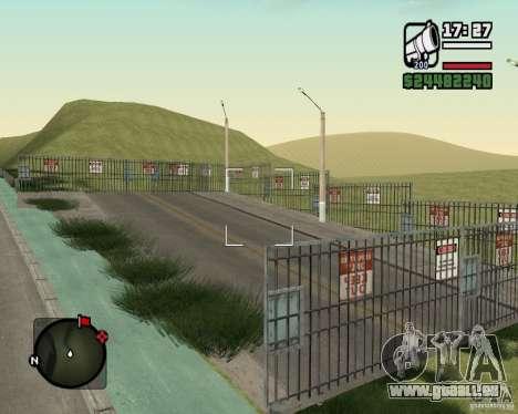 Gosport Straße-Nižegorodsk für GTA San Andreas sechsten Screenshot