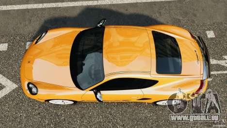 Porsche Cayman R 2012 [RIV] pour GTA 4 est un droit